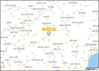 map of Bugsoc