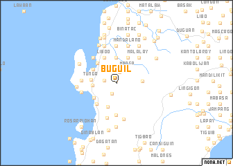 map of Buguil