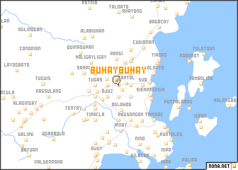 map of Buhaybuhay