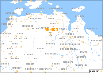 map of Buhian