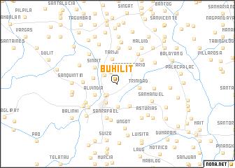 map of Buhilit