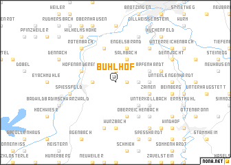 map of Bühlhof