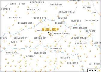 map of Bühlhof