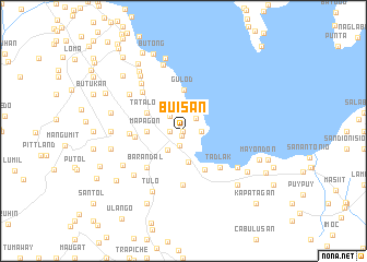 map of Buisan