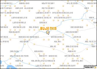 map of Bujenka
