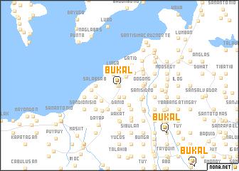 map of Bukal