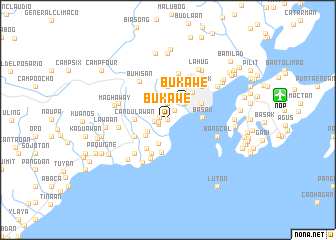 map of Bukawe