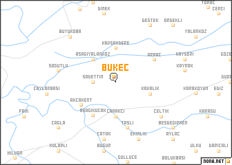 map of Bükeç
