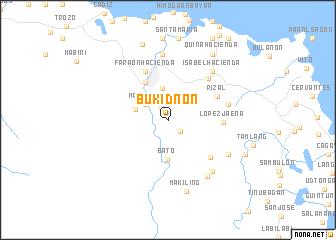 Bukidnon (Philippines) map   nona.net