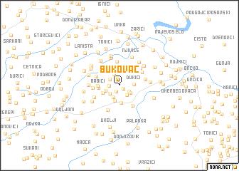 map of Bukovac