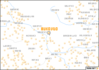 map of Bukov Do