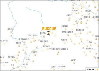 map of (( Bukovë ))