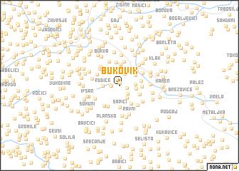 map of Bukovik