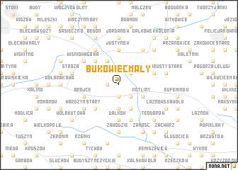 map of Bukowiec Mały