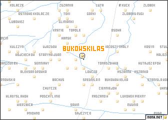map of Bukowski Las