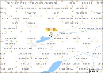 map of Bukow