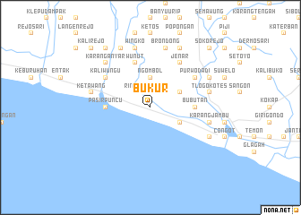map of Bukur