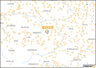 map of Bukva