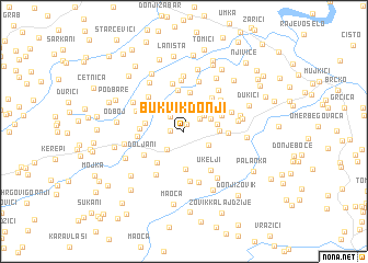 map of Bukvik Donji