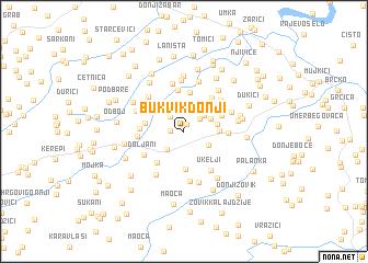 map of Bukvik Donji