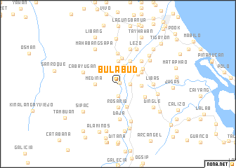 map of Bulabud