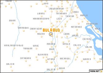 map of Bulabud