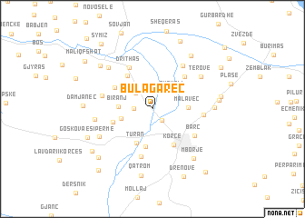 map of Bulagarec