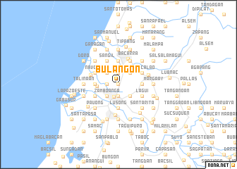 map of Bulangon