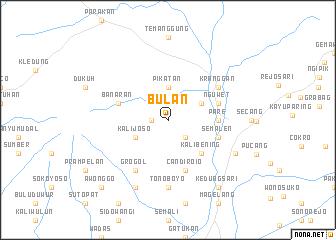 map of Bulan