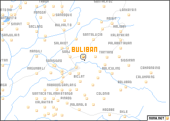 map of Buliban
