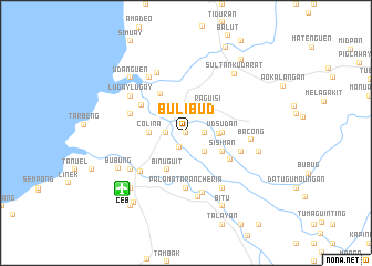 map of Bulibud