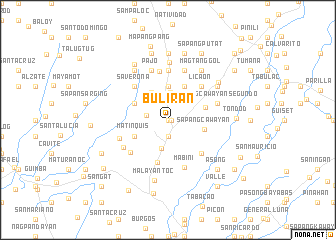 map of Buliran