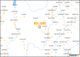 map of Buliuag