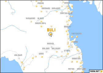 map of Buli