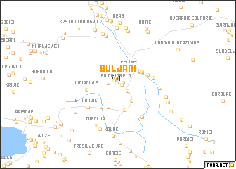 map of Buljani