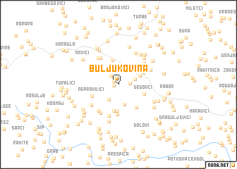 map of Buljukovina