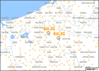 map of Bulog