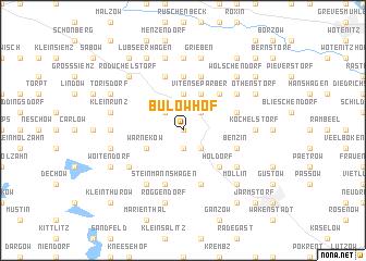 map of Bülow-Hof