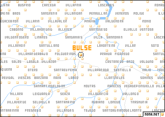 map of Bulse