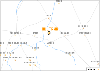 map of Bultawa
