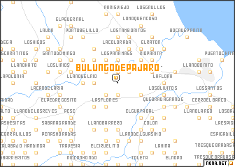 map of Bulungo de Pájaro