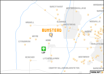 map of Bumstead