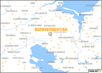 map of Bunaheraghtish