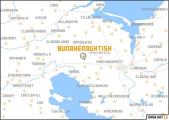 map of Bunaheraghtish