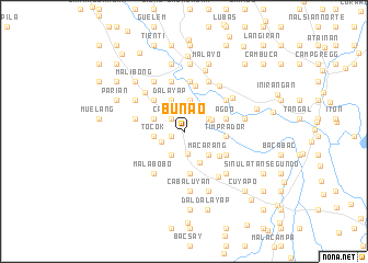 map of Bunao