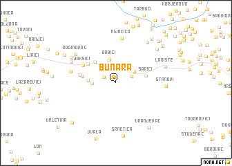map of Bunara