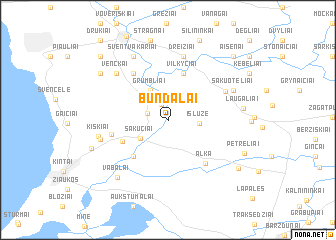 map of Bundalai