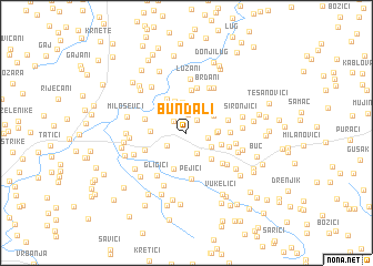 map of Bundali