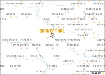 map of Bundenthal