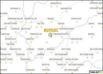 map of Bu N\